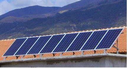 Фотоволтаично захранване на ферма
