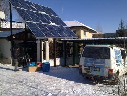 Фотоволтаична система за къща в София