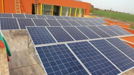 20kWp фотоволтаична система за самостоятелно захранване