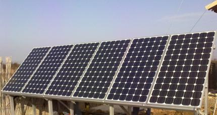 Соларна система за къща (самостоятелно захранване)