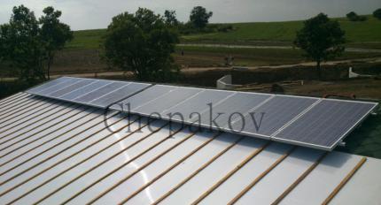 Фотоволтаична система за самостоятелно захранване на ферма за птици