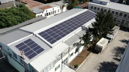 Фотоволтаична система за самостоятелно захранване на предприятие