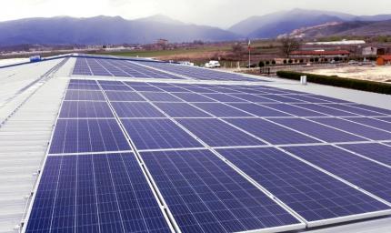 Соларна система за цех за плодове и зеленчуци