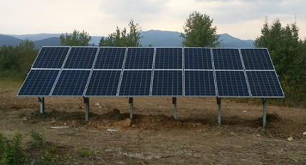 3,83kWp система off-grid