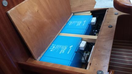 Литиеви акумулатори за яхта