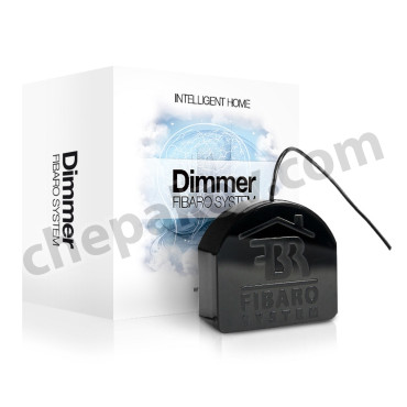 FIBARO Dimmer - Димер Фибаро (затъмнител) 25- 500W 868,4 Mhz (безжична комуникация)