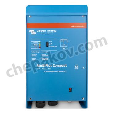 Инвертор Victron MultiPlus C 24V 800Va със зарядно устройство и бърз трансферен ключ