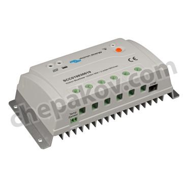 BlueSolar PWM-Pro Соларен заряден контролер 12/24V-10A