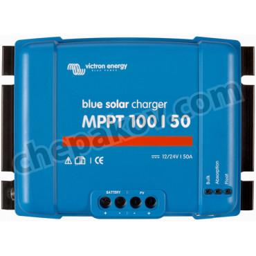 Соларен контролер Victron BlueSolar MPPT 100/50 (12/24V-50A)