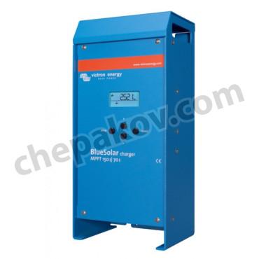 Соларен контролер Victron BlueSolar MPPT 150/70 с LCD дисплей (12/24/36/48V-70A)