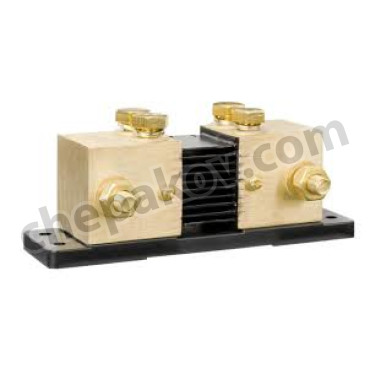 Shunt 1000A/50mV-0,5 / 2xM10