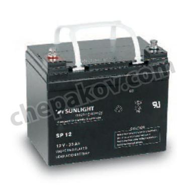 Акумулаторна Батерия Sunlight VRLA AGM 12V 28Ah