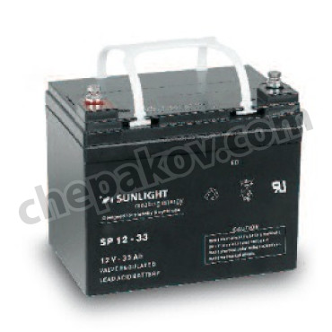 Акумулатори Батерия Sunlight VRLA 12V 33Ah