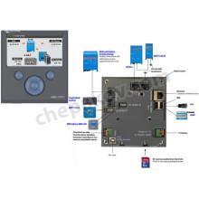 Дисплей, мониторинг по интернет и управление на продукти Victron - Color Control GX