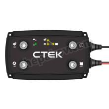 DC зарядно за втори (сервизен) акумулатор Ctek 20A в кемпери, яхти, коли