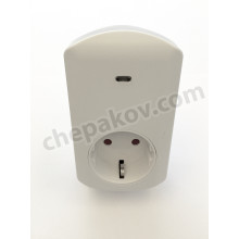 Умен контакт  за домашна/ офис  автоматизация с функция за измерване на енергия  (безжична комуникация)