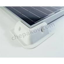 Краен монтажен ъгъл за монтаж на соларни панели , комплект от 4 броя, ABS - Solara Германия