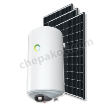 80l соларна система за топла вода с фотоволтаици