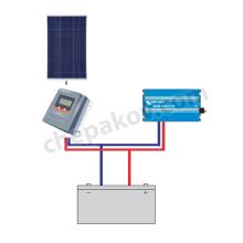 Соларна система за осветление и телевизор