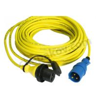 Захранващ кабел за брегово захранване 15m 16A/250Vac (3x2,5мм^2)