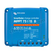 Соларен контролер Smart Victron Blue Solar MPPT 75/15 (12/24V-15A) с Bluetooth