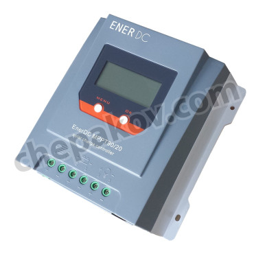 EnerDC MPPT solar charge controller 90V / 20A with display