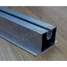 Aluminium Rail 45х80mm 6.06m for solar panels