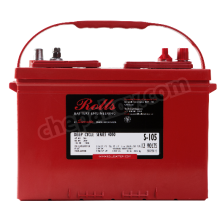 12V 105Ah Flooded Deep-Cycle battery Rolls