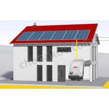 2kWp Solar system for saling of electricity and self-consumption