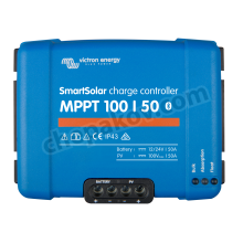 Victron SmartSolar charge controller MPPT 100/50 (12/24V-50A) with Bluetooth connectivity