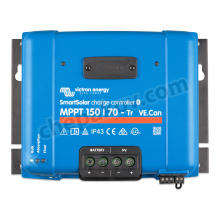 SmartSolar Charge Controllers MPPT 150/ 70 Tr (12/24V/48V-70A) with VE.Can interface Victron