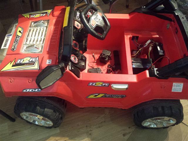 Ъпгрейд на акумулаторна детска кола
