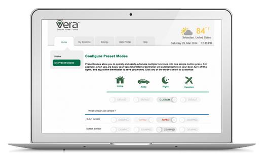 Контролер Z-wave VERA Edge (Micasa Verde) - САЩ