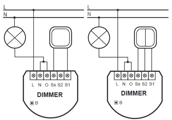 Схема на свързване при двупроводна инсталация