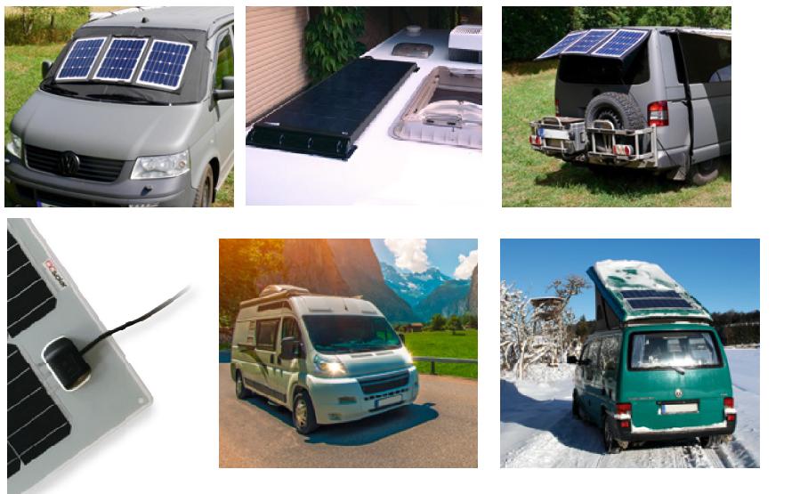 Соларни панели за каравани