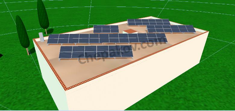 Изчисляване на соларни системи kWp - индивидуални проекти